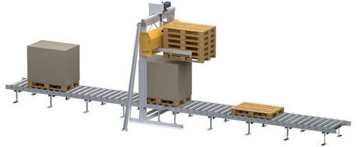 Pallet stacker PSS15 PT pass through function