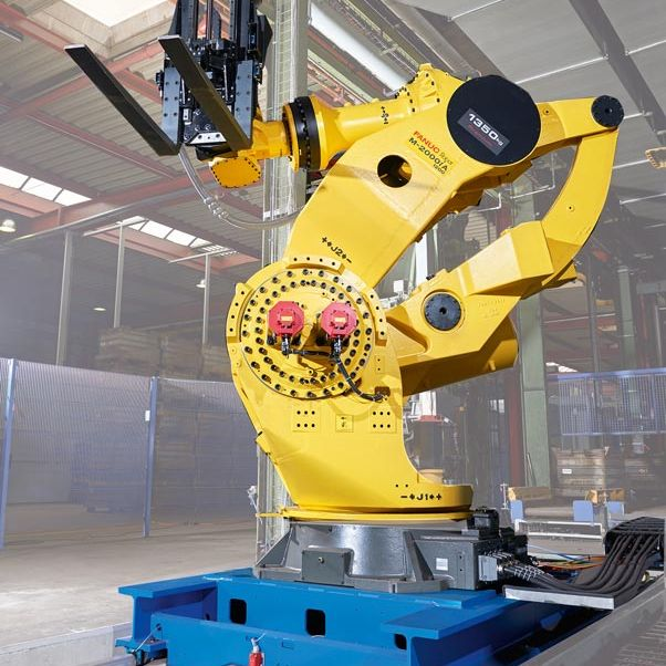 WINKEL RLE Linearachse mit Fanuc Roboter