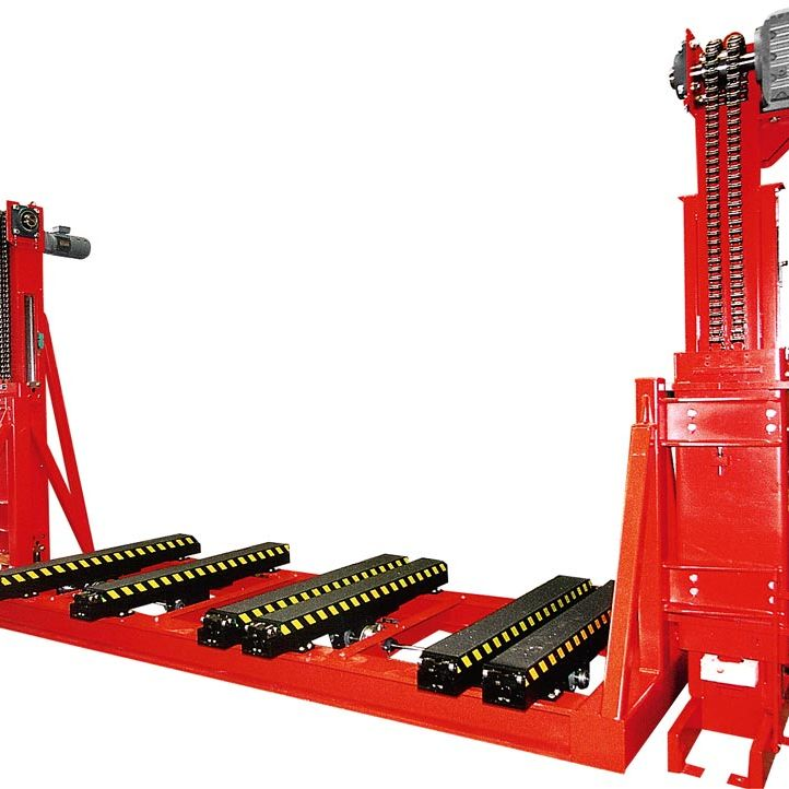 WINKEL Automotive lifter Car body handling unit with 2 stage telescopic forks  · 6 times