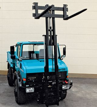 Special lift masts for fork lift trucks · W 30 TR