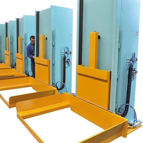 Stationary lifting unit for special pallets · load capacity 3 t