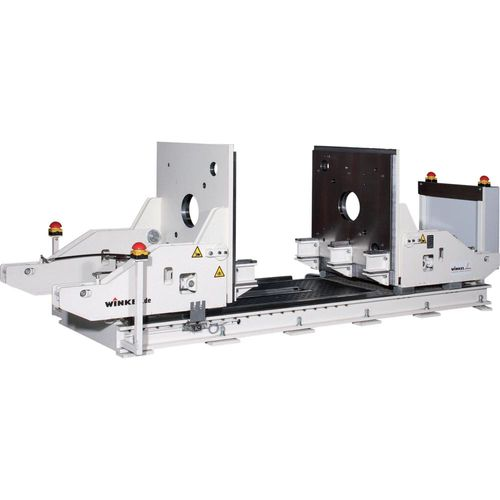 Maintenance device for plastic moulds  ·  load capacity: 6 t  ·  closing · opening · one side ot both sides turning 90°  ·  secure handling of heavy and valuable moulds