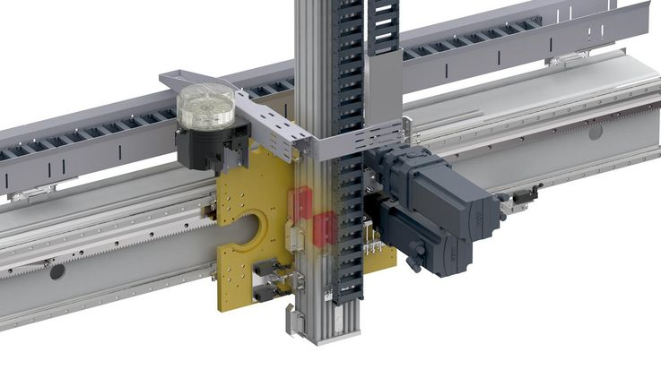 Clamping elements for guide rails