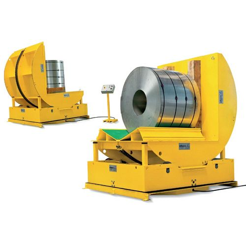 Type C 5 W  ·  Technical characteristics: Load capacity: 10 · 000 kg  ·  Coil Φ: 1 · 900 mm  ·  Coil length: 1 · 600 mm  ·  Special versions on request
