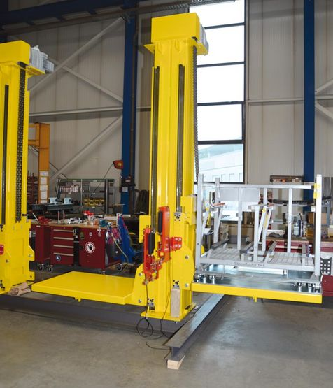 WINKEL automotive lifter work station