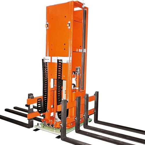 Hydraulic Tandem Lifting Unit with turning device 180 ° ·  load capacity : 600 kg