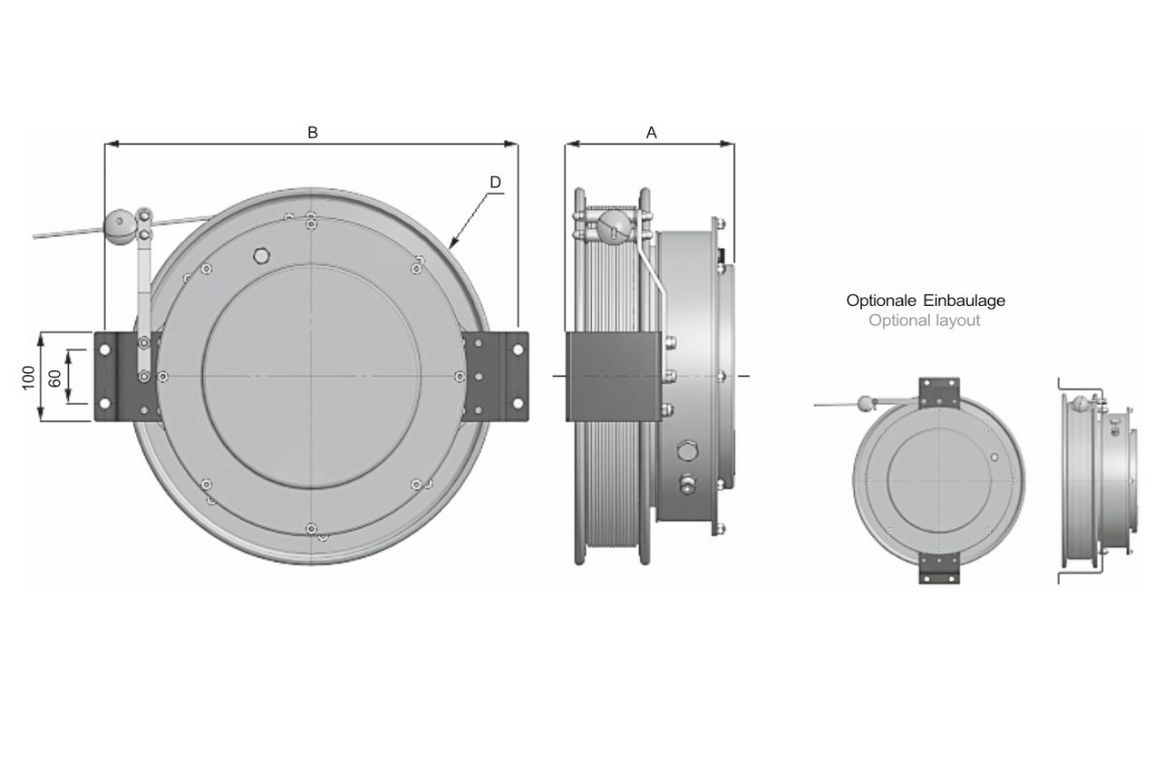 Cable reel serial LR