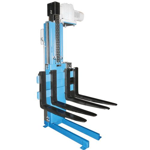 Pallet lifter with revolving chains ·  motor in bottom position ·  load capacity 0 · 5 t – 2 · 5 t