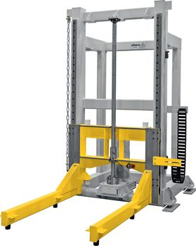 Screw jack lifter · with screw jack drive ·  load capacity 0.5 - 10 t.