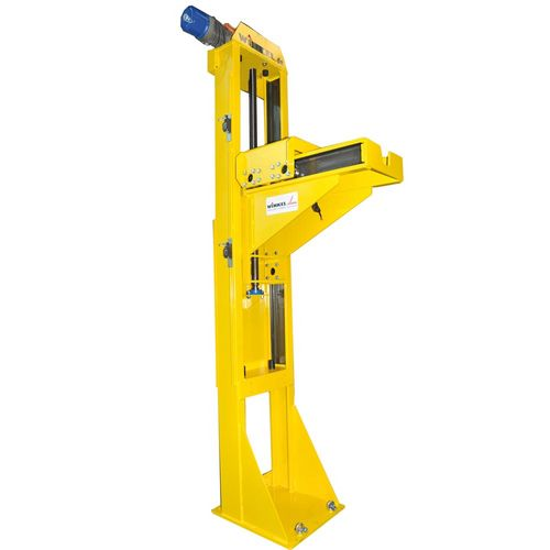 Screw jack lifter with screw jack drive load capacity 3.0 t