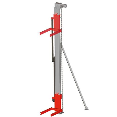 Pallet lifter · Pallet lifter ·  stand alone version ·  load capacity 0.5 t - 1.5 t.