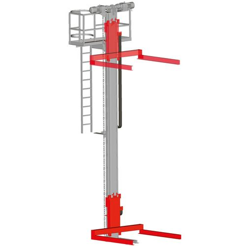 Pallet lifter · with stand-by drive and maintenance platform ·  load capacity 0.5 t - 2.5 t.