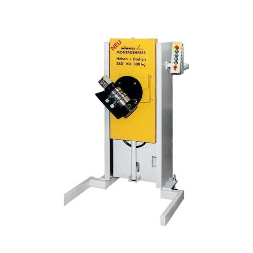 Lift and turning units  ·  functions : lifting · turning · tilting · rotating ·  tool weight : 100 kg to 5 t · for efficient assemblies · special designs available also for small quantities
