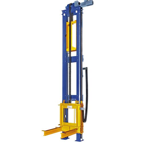Stationary lift mast · load capacity 3 t with counter weight