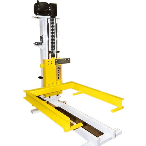 Pallet lifter with special load frame for long conveyors ·  load capacity 0 · 5 t – 2 · 5 t