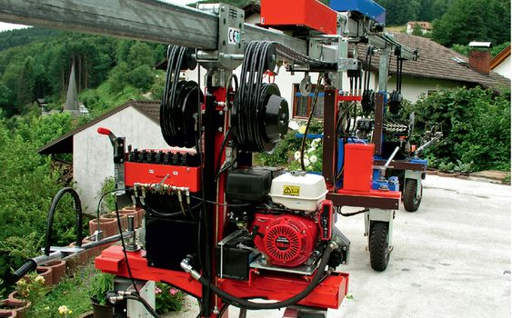 Hose Reels · Application examples special equipment