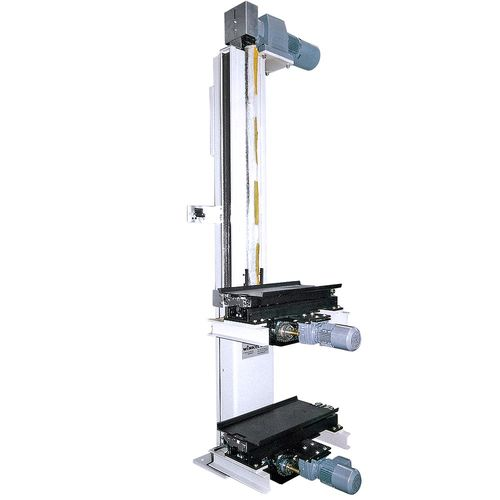 Stationary lifting unit 1 · 5 t with twin telescopic fork