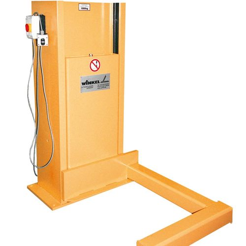 Hydraulic lifting unit for special pallets · load capacity 1 t
