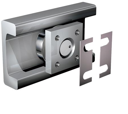 Flange plates square for WINKEL-Bearings and Radial Bearings
