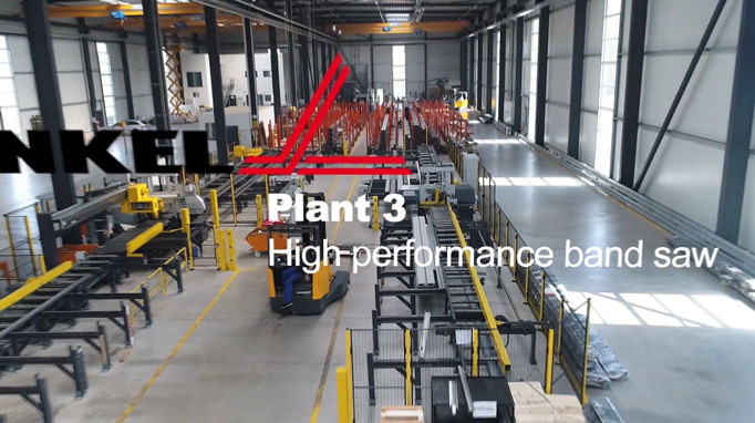 Plant 3 with a building height 12 m and shop floor of 4.500 sm