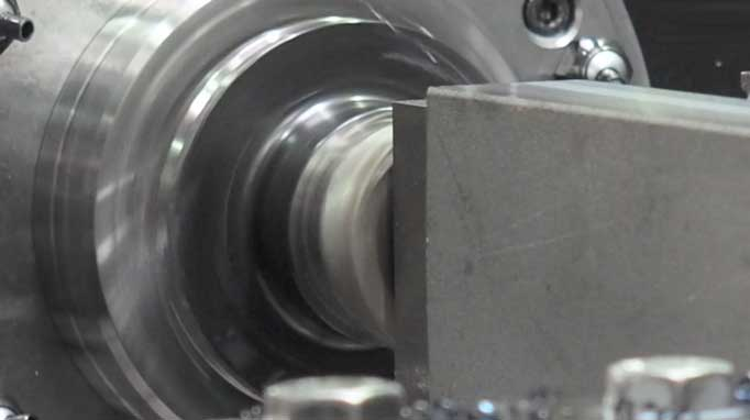 Profile machining, all steps from production process, guide profiles, fine straightening, welding and CNC processing.