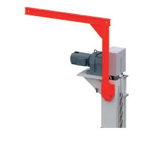 Pallet lifter with chain WDT 1 Maintenance hoist