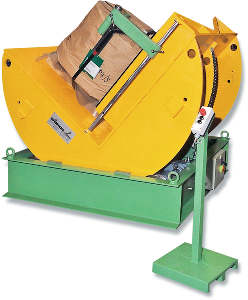 Coil turning unit / Coil turning/tilting unit · The space saving turning unit for 5 t and 10 t coils.Coil turning units of type C5 and C 10 are available as turning units [Type C 5 W and C 10 W] or as turning/rotation unit[Type C 5 WD and C 10 WD]