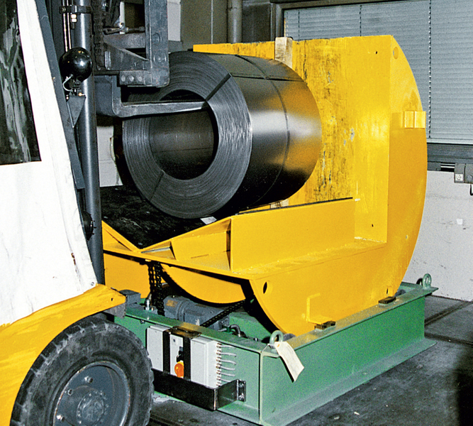Coil turning/tilting unitType C 5 WDType C 10 WD · Turning and tilting operation in a few seconds