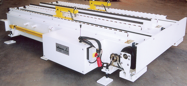 Tool changing systems up to 20 t · tool changing system with hydraulical push/pull unit for easy tool handling special design for load capacity up to 20 t on request