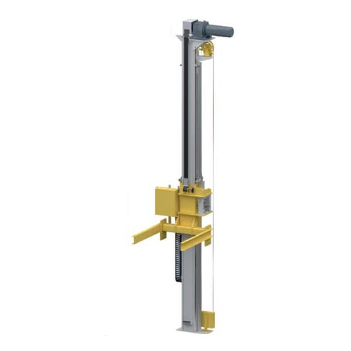 WINKEL belt lifter WPH1 WTO motor position in top position · belt winding technology up to 5 m/s lifting speed