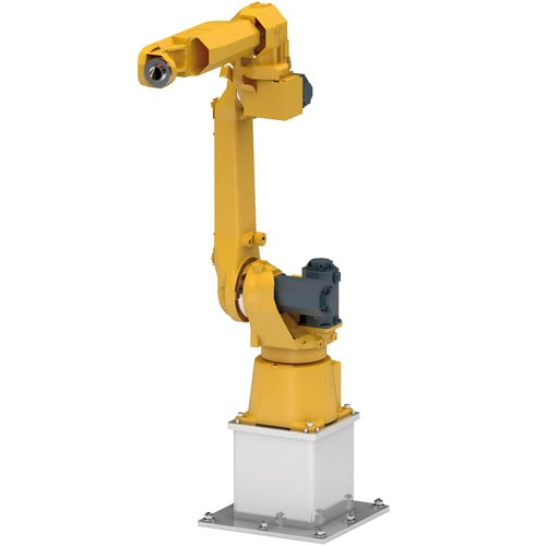 WINKEL robot pedestal. Advantages: fits all robots  ·  optional with fixing elements  · height max. 2000 mm